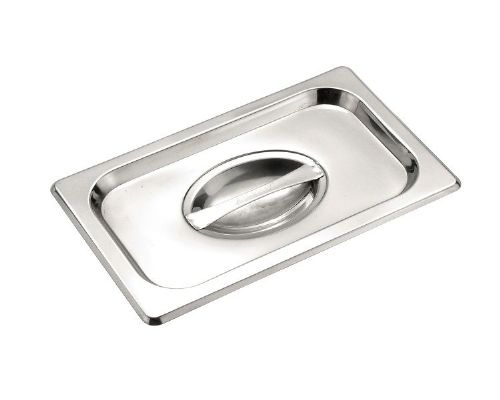 Premier Stainless Steel Gastronorm Pan Cover - One Ninth Size 1/9